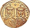 Solidus of Leo IV the Khazar & Constantine VI.jpg
