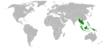 Asie du Sud-Est.