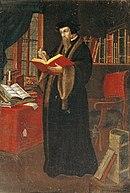 Portrait of John Calvin, French School.jpg