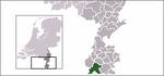 Carte de localisation d'Eijsden-Margraten