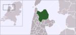 Carte de localisation d'Hollands Kroon