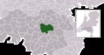 Carte de localisation de Meierijstad