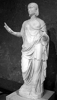 Elle a arrêté les moissons sur Terre quand sa fille (Proserpine) fut enlevée par le Dieu des enfers (Pluton).