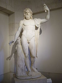 Représentation de Jupiter au musée du Prado, à Madrid.