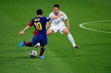Messi en finale de Ligue des champions 2009