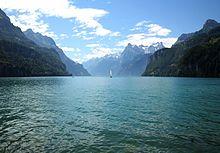Photo du lac des quatre cantons.