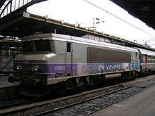 La BB 15065 en gare de Paris-Est