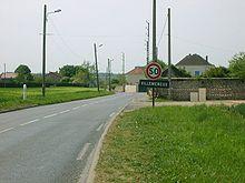 Photo représentant l'entrée du lieu-dit Villemeneux