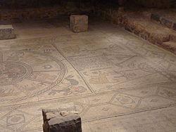 Ancient Mosaic of Beth Alpha Synagogue