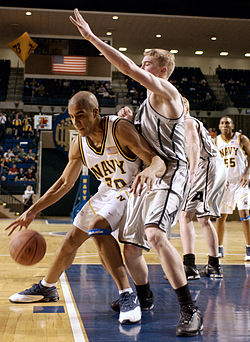 Basketmatch i USA 2004.