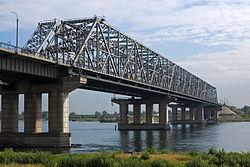 Pont sur le Ienisseï à Krasnoïarsk
