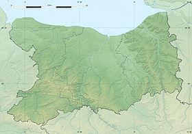 Voir sur la carte topographique duCalvados