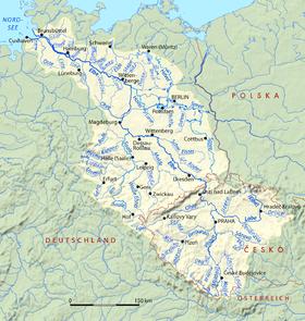 Bassin de l'Elbe.