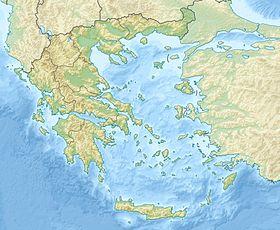 Voir la carte topographique de Grèce