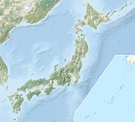 Voir la carte topographique duJapon2