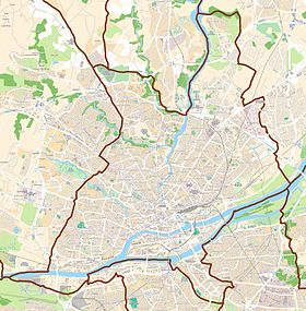 voir sur la carte de Nantes