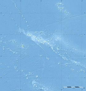 Voir la carte topographique de Polynésie française