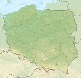 Voir la carte topographique de Pologne