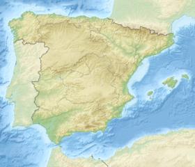 Voir la carte topographique d'Espagne