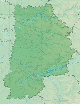Voir sur la carte topographique de Seine-et-Marne