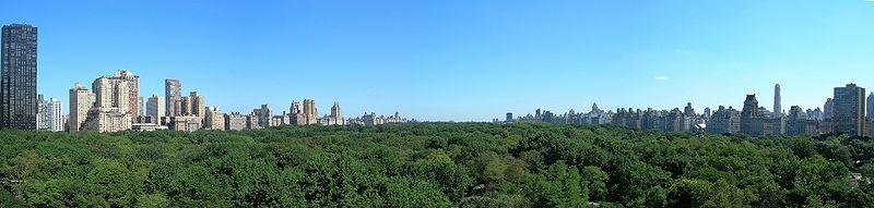 Central Park, najnavštevovanejší park v Spojených štátoch[65]
