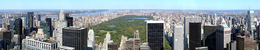 A Central Park, az USA leglátogatottabb parkja.