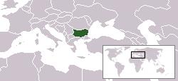 Umestitev Bolgarije v Evropi