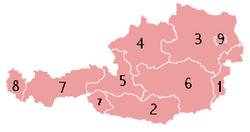 Ausztria tartományai